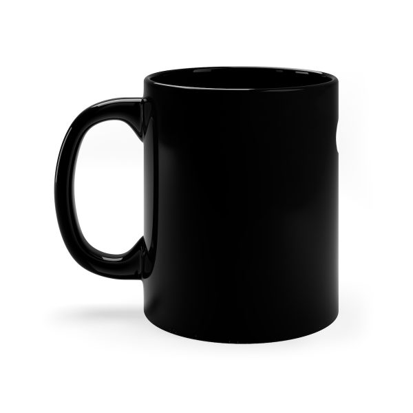 Black Mug 11 oz left