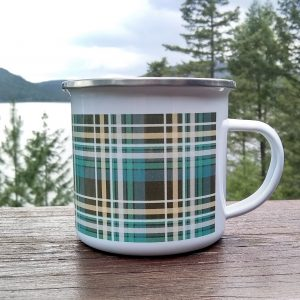 Plaid Camp Mug