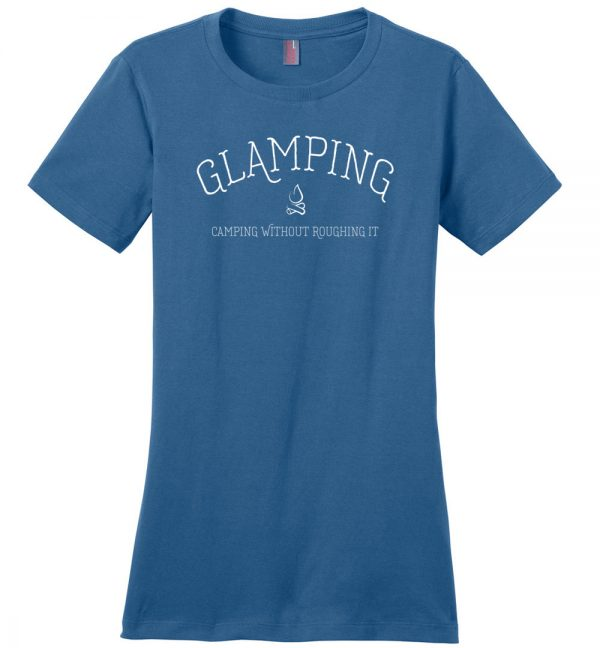 Glamping Ladies' t-shirt