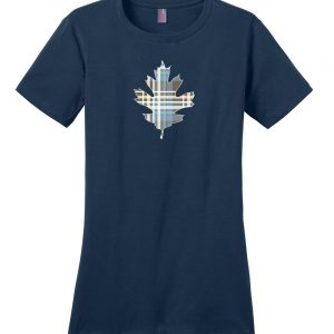 Plaid Oak Leaf Tee