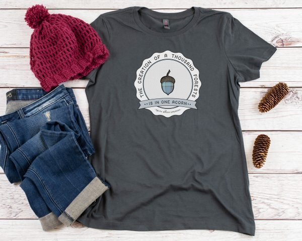 One Acorn Emerson Quote T-Shirt