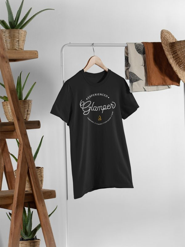 Experienced Glamper Unisex t-shirt