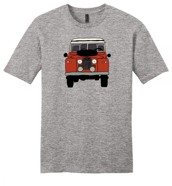 Land Rover Series IIA Red