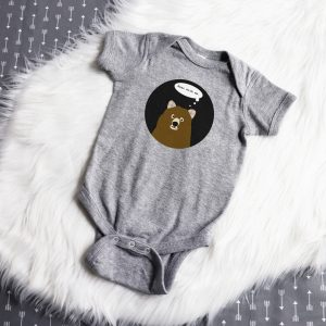 Bear With Me Infant Bodysuit