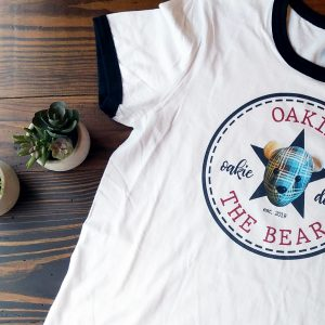 Oakie The Bear Ringer Tshirt