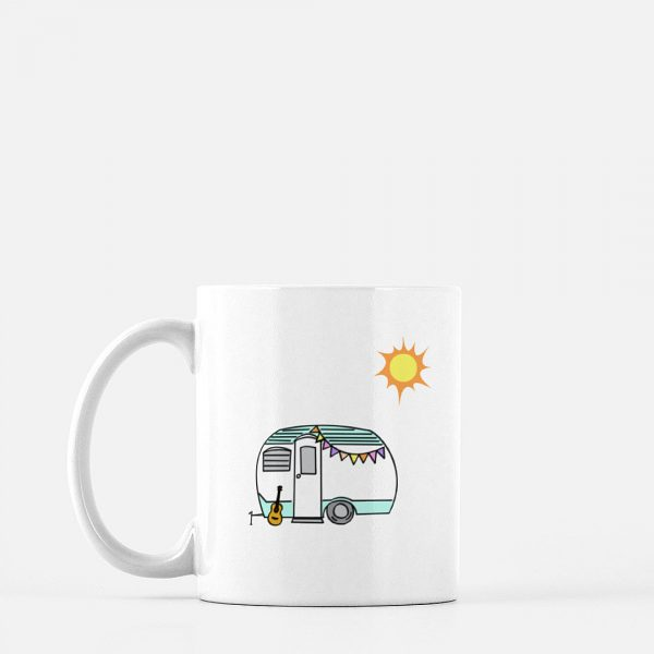 Retro Camper Coffee Mug