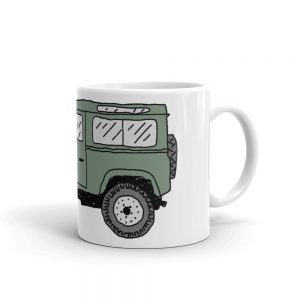 Land Rover Series IIA Mug