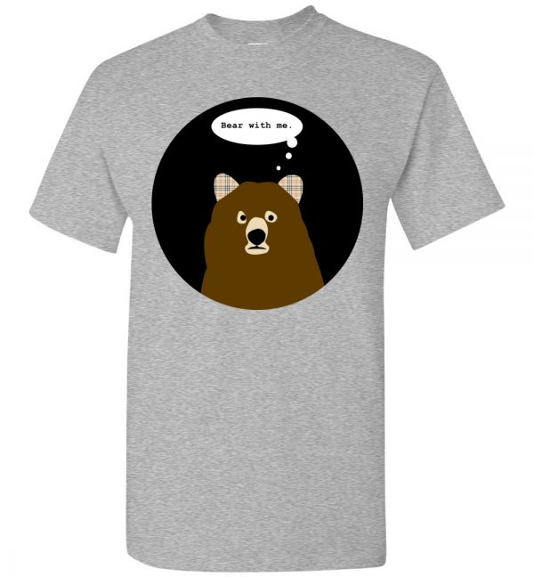 Bear With Me youth tee