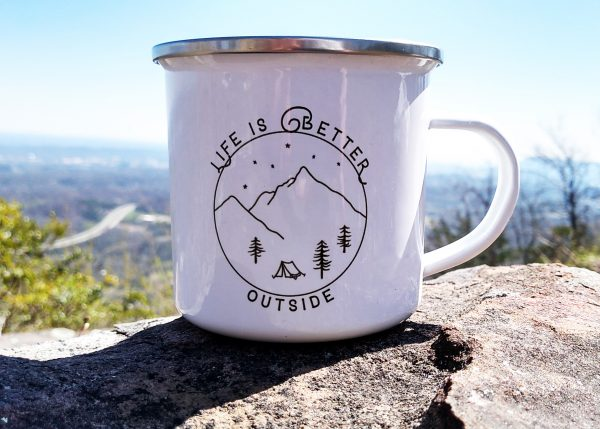 Life Is Better Outside Camp Mug