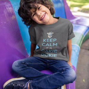 Keep Calm it is Oakie Dokie youth t-shirt