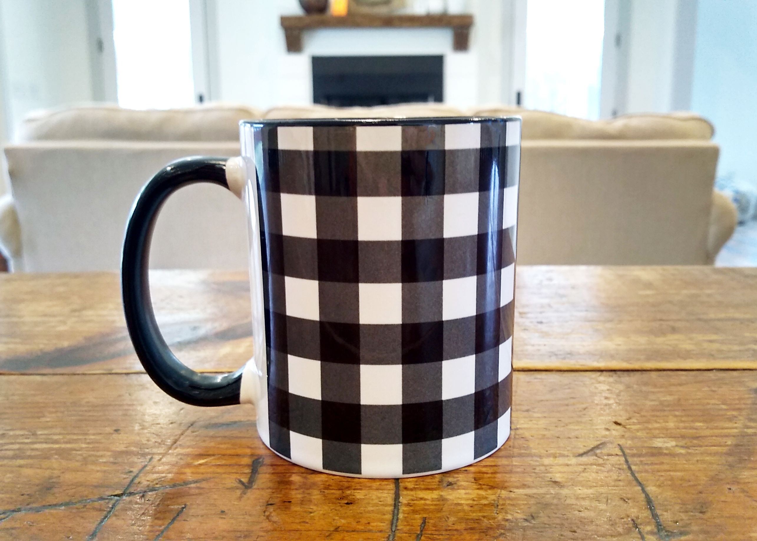Buffalo Plaid Mug 11oz
