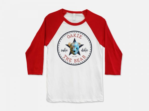 Oakie The Bear Baseball Shirt