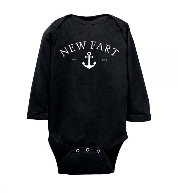 New Fart Personalized Infant Bodysuit