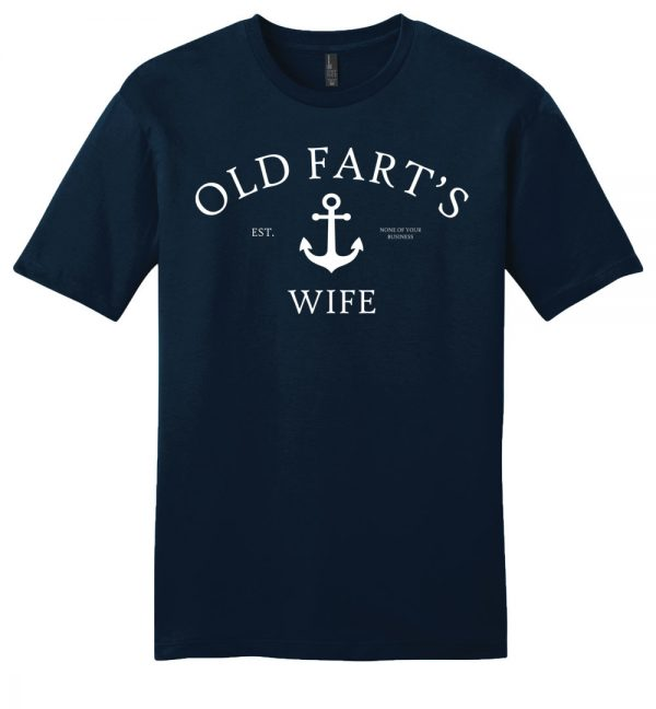 Old Fart's Wife Unisex t-shirt