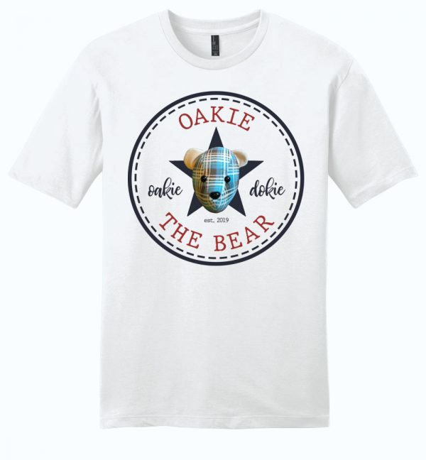 Oakie the Bear unisex t-shirt