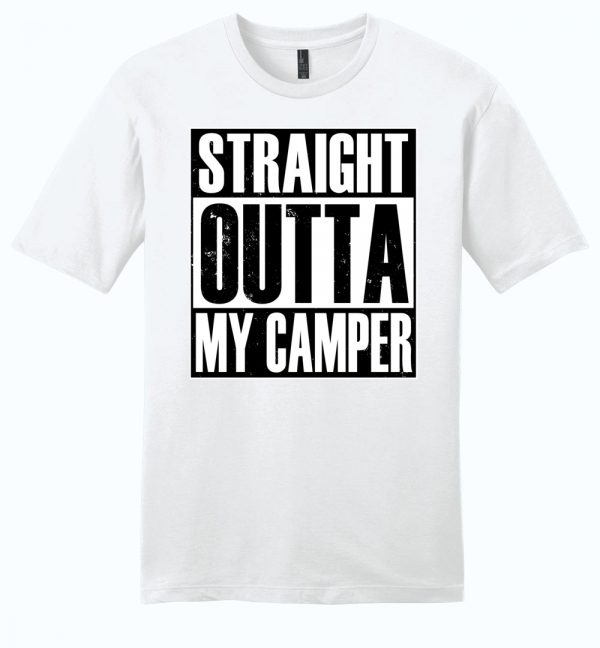 Straight Outta My Camper unisex t-shirt