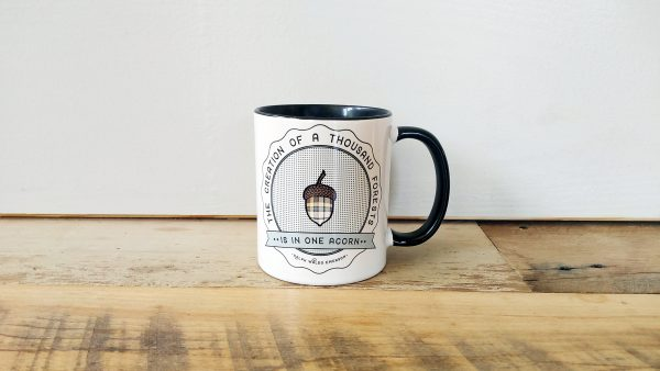 One Acorn R.W. Emerson quote mug