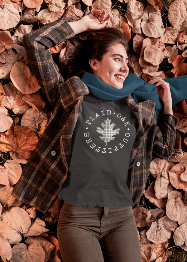 Plaid Oak Outfitters t-shirt