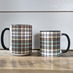 Plaid Oak Plaid Mugs