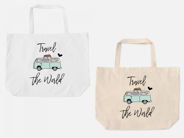 Van Life Oversized Tote Bag