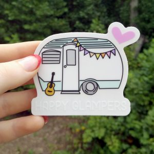 Happy Glampers Sticker