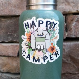 Happy Camper Airstream Decal